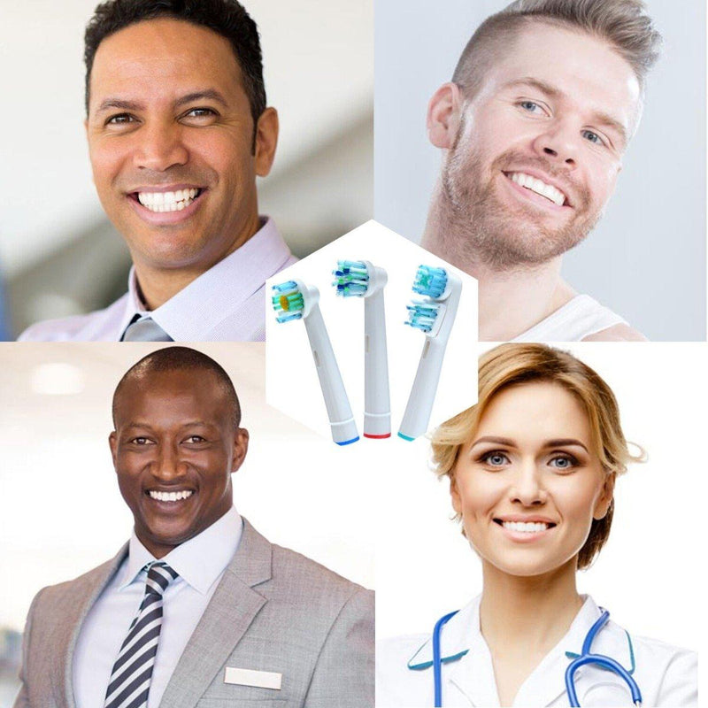 12-Pack: Assorted Clean Replacement Electric Toothbrush Heads Beauty & Personal Care - DailySale