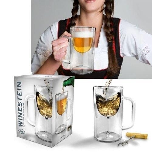 12-Pack: Wine Glass Beer Mug Kitchen Essentials - DailySale