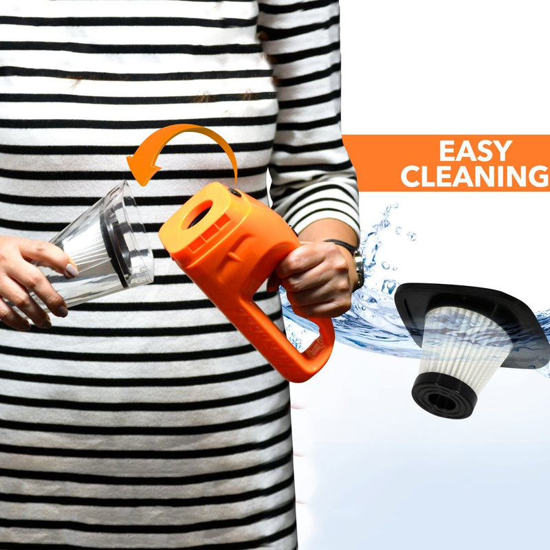 120W Wet Dry Car Vacuum Cleaner Auto Accessories - DailySale