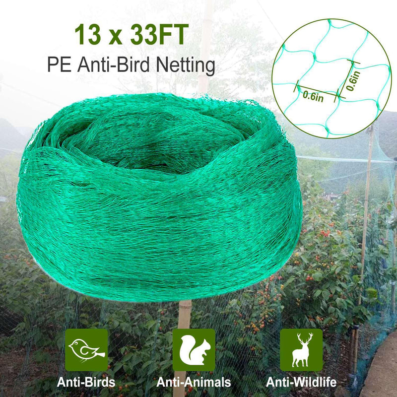 13 x 33 Ft. Garden Net Garden & Patio - DailySale