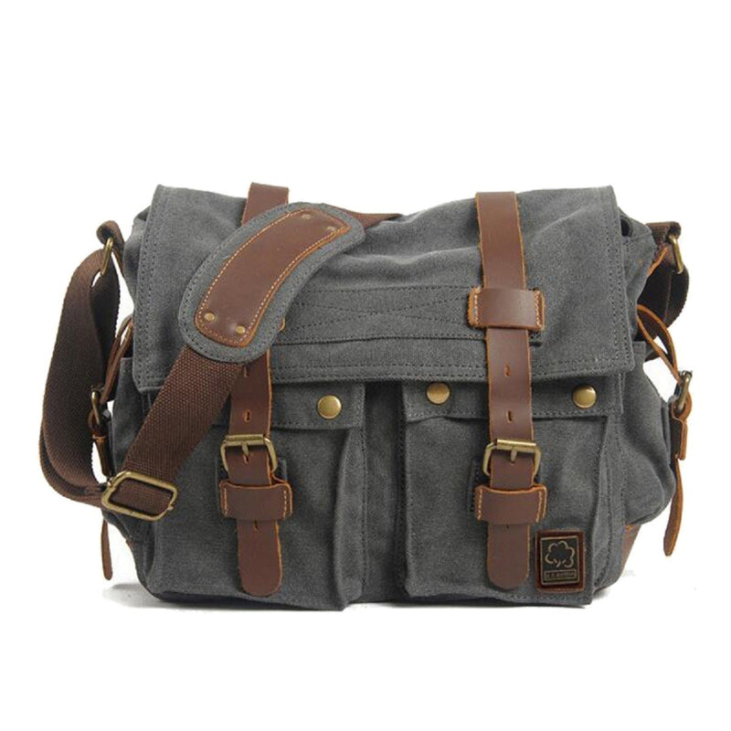 Military Vintage Canvas Crossbody Messenger Bag - Assorted Colors and Sizes - DailySale, Inc