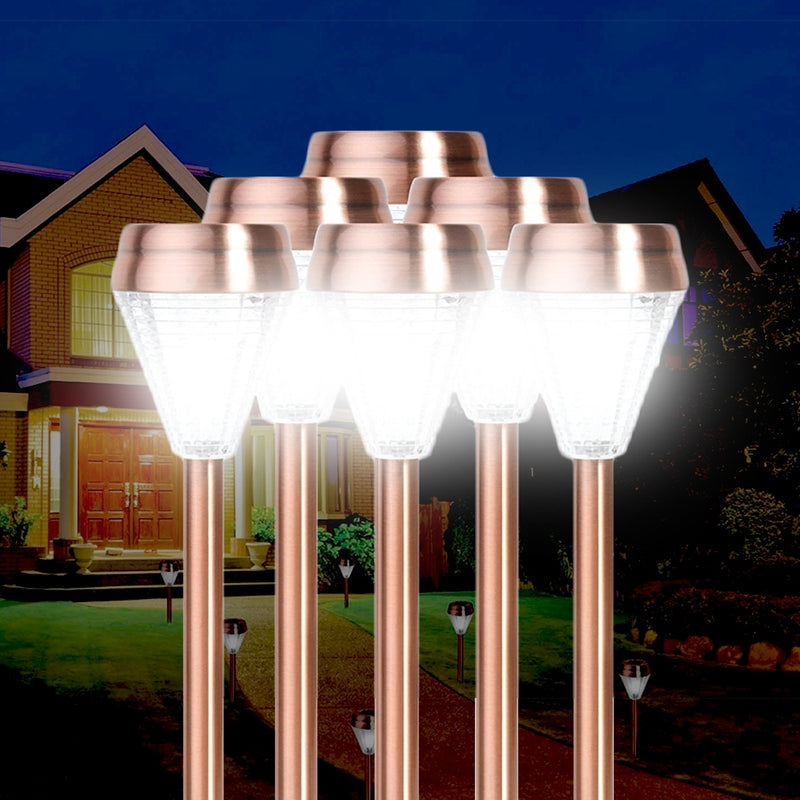 6-Pack: EcoThink Outdoor Solar LED Pathway Light - DailySale, Inc