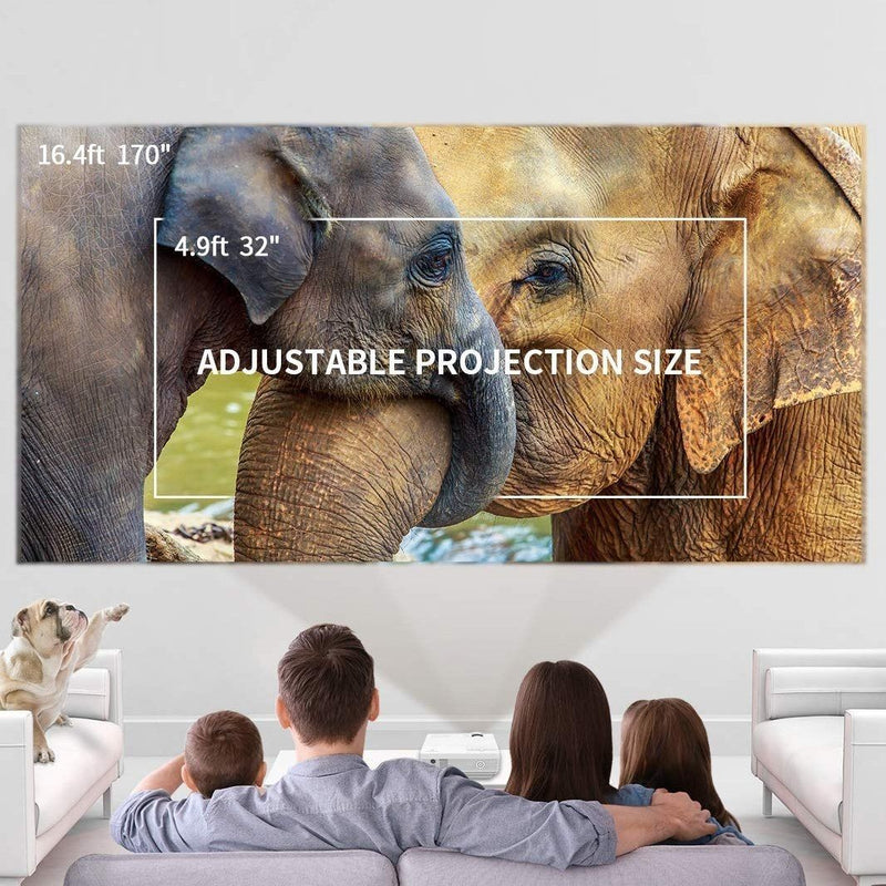 170'' Display, 1080P Supported Mini Projector - Assorted Colors Gadgets & Accessories - DailySale