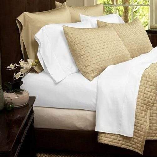 1800 Series Sheets Super-Soft Bamboo Fiber - Assorted Colors and Sizes Linen & Bedding California King White - DailySale