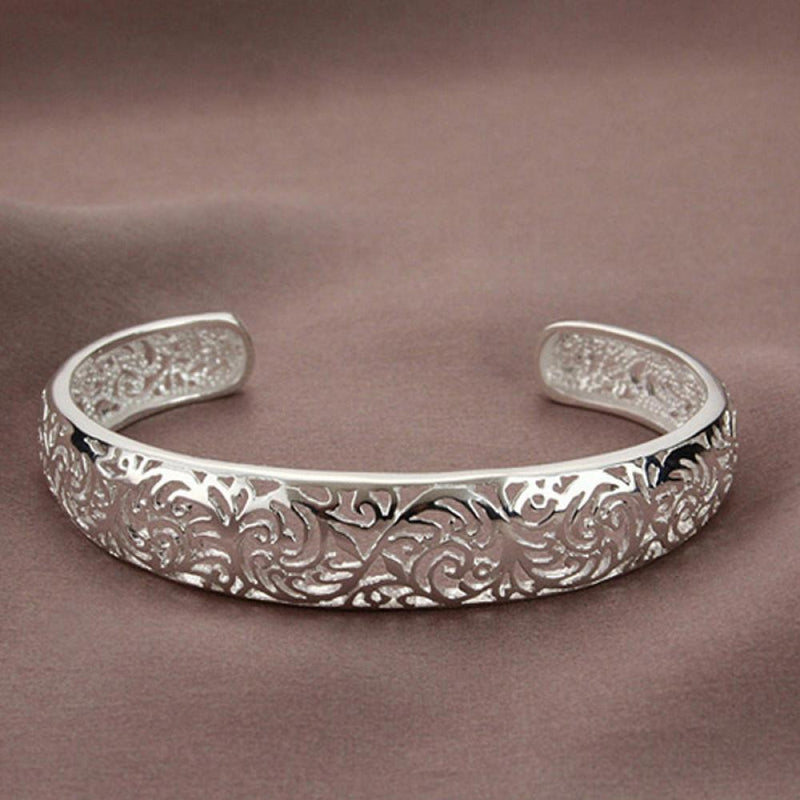 18kt White Gold Plated Bangle Jewelry - DailySale
