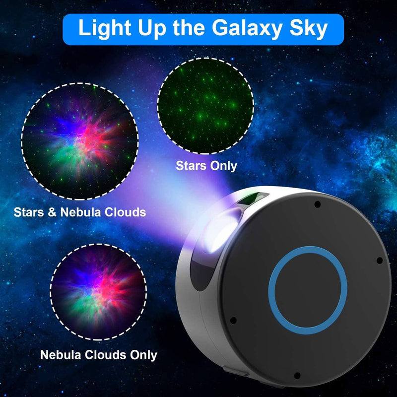 2-in-1 Aurora Starry Sky Projector Indoor Lighting - DailySale