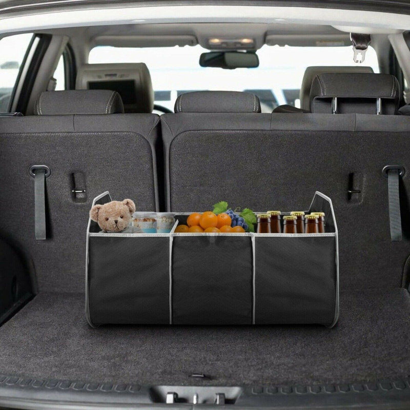 2-in-1 Collapsible Trunk Organizer with Removable Cooler Auto Accessories - DailySale