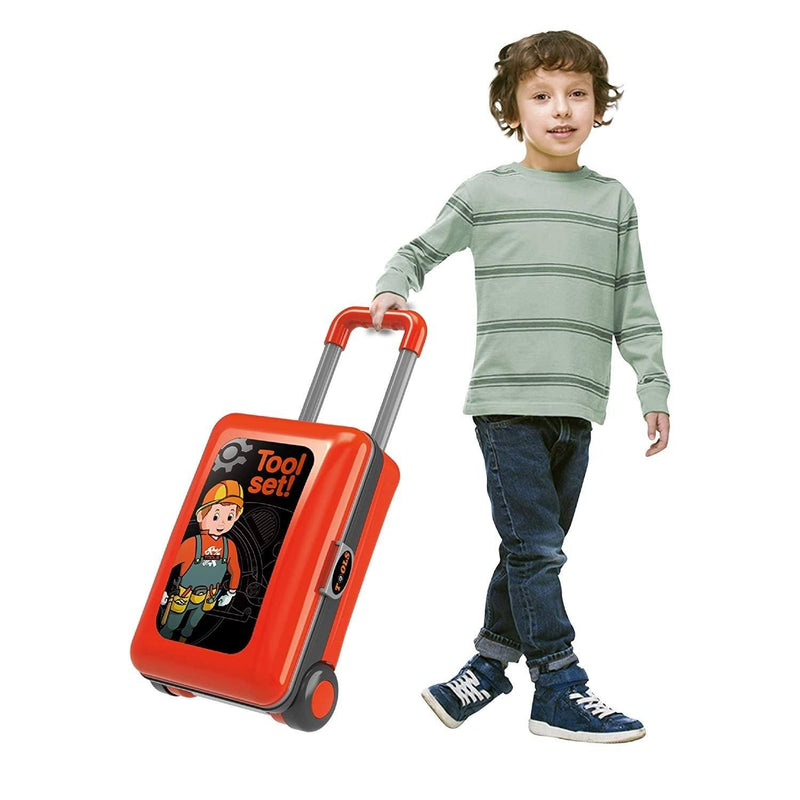 2-in-1 Pretend Play Game Travel Suitcase for Girls Toys & Games - DailySale