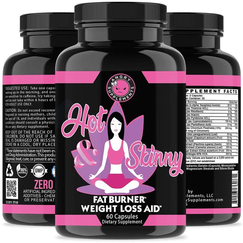 2-Pack: Angry Supplements Day and Night Time Diet Pills Wellness & Fitness - DailySale