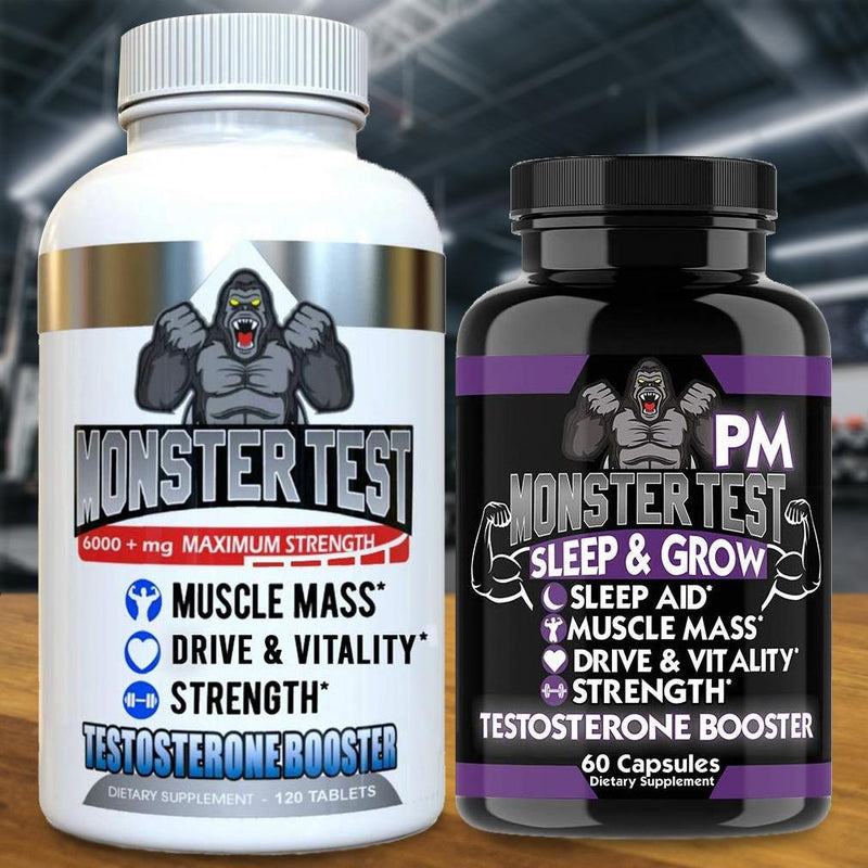 2-Pack: Angry Supplements Test Booster for Men Wellness & Fitness - DailySale