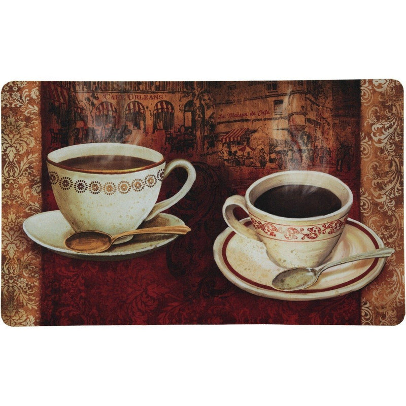 2-Pack: Anti-Fatigue Mats - Assorted Styles Home Essentials French Coffee - DailySale
