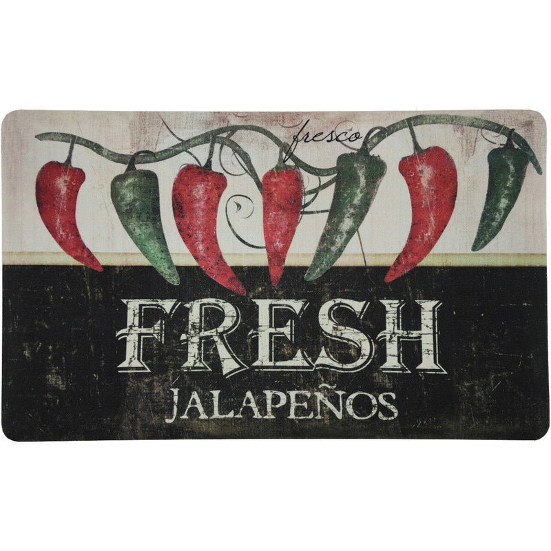 2-Pack: Anti-Fatigue Mats - Assorted Styles Home Essentials Jalapeños - DailySale