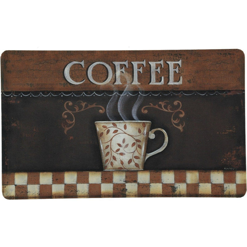 2-Pack: Anti-Fatigue Mats - Assorted Styles Home Essentials Vintage Coffee - DailySale