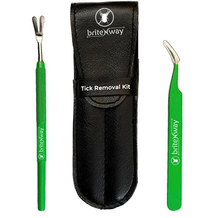 2-Pack: BritenWay Stainless Steel Tick Remover Set Pet Supplies - DailySale