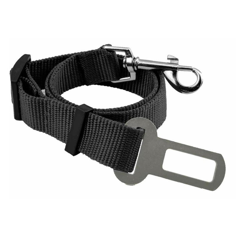 2-Pack: Car Seat Belt Clip for Pets Pet Supplies Black - DailySale