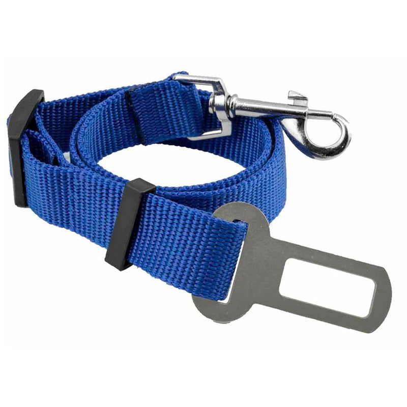 2-Pack: Car Seat Belt Clip for Pets Pet Supplies Blue - DailySale