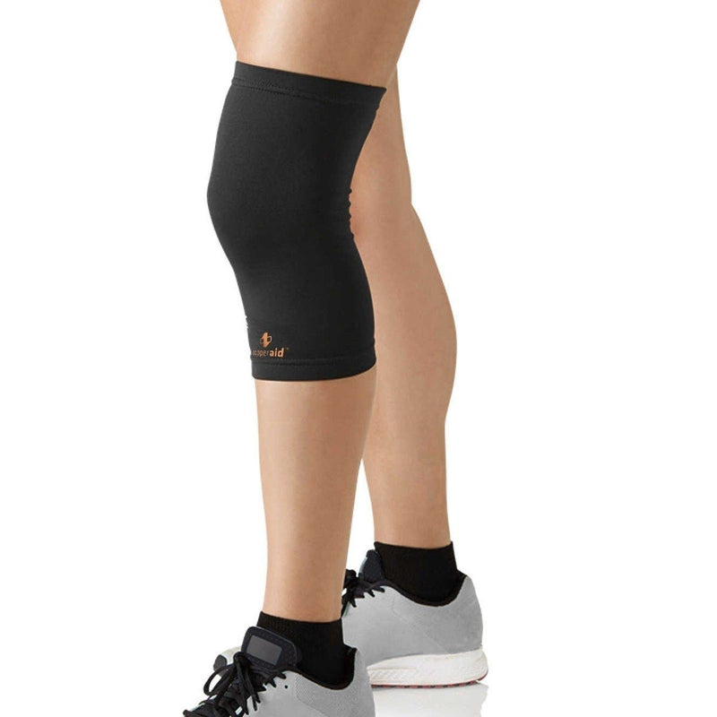 2-Pack: Copper Compression Recovery Knee Sleeve - Medium Wellness & Fitness - DailySale