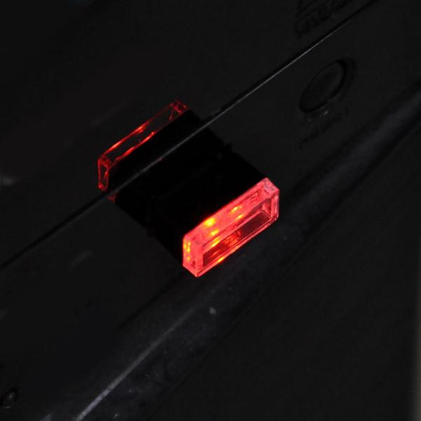 2-Pack: LED Mini Light Car Interior Wireless Atmosphere Light Automotive Red - DailySale