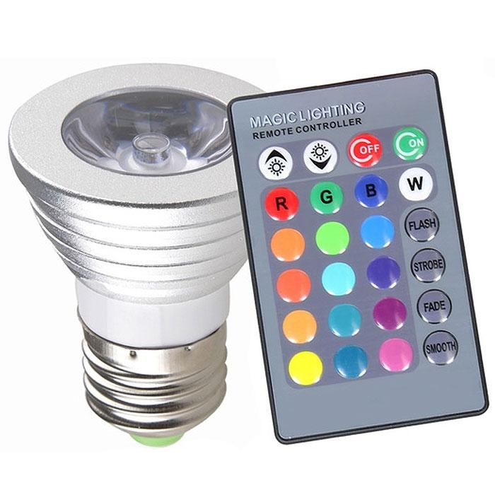 2-Pack: Magic Light Color-Changing LED Light Bulbs with Remote Control Home Lighting - DailySale