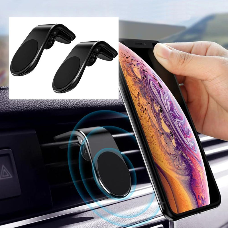 2-Pack: Magnetic Vent Phone Holder - Assorted Colors Phones & Accessories - DailySale