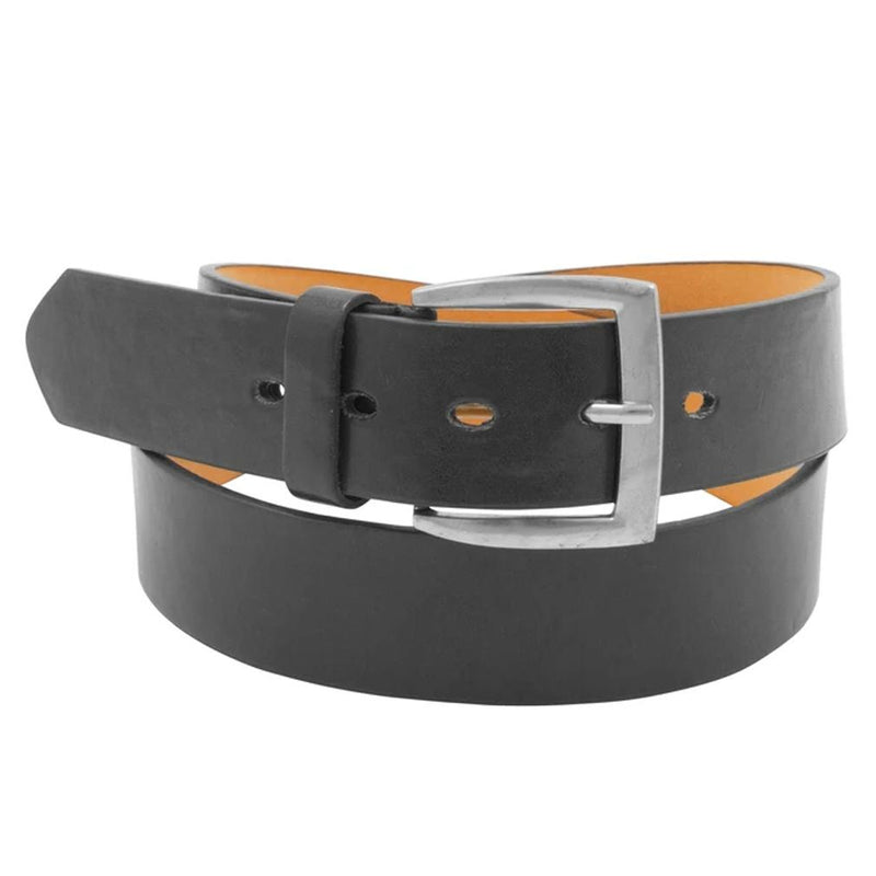 2-Pack: Men's Black & Brown Solid Belts Men's Apparel - DailySale