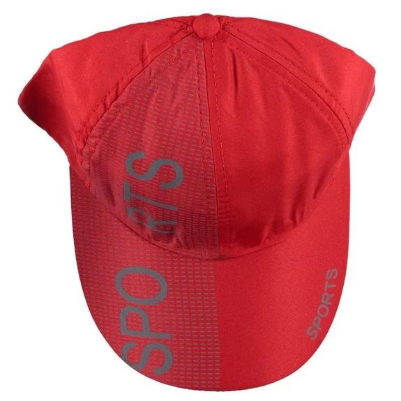 2-Pack: Mens Sport Adjustable Hat Hats & Gloves Red - DailySale