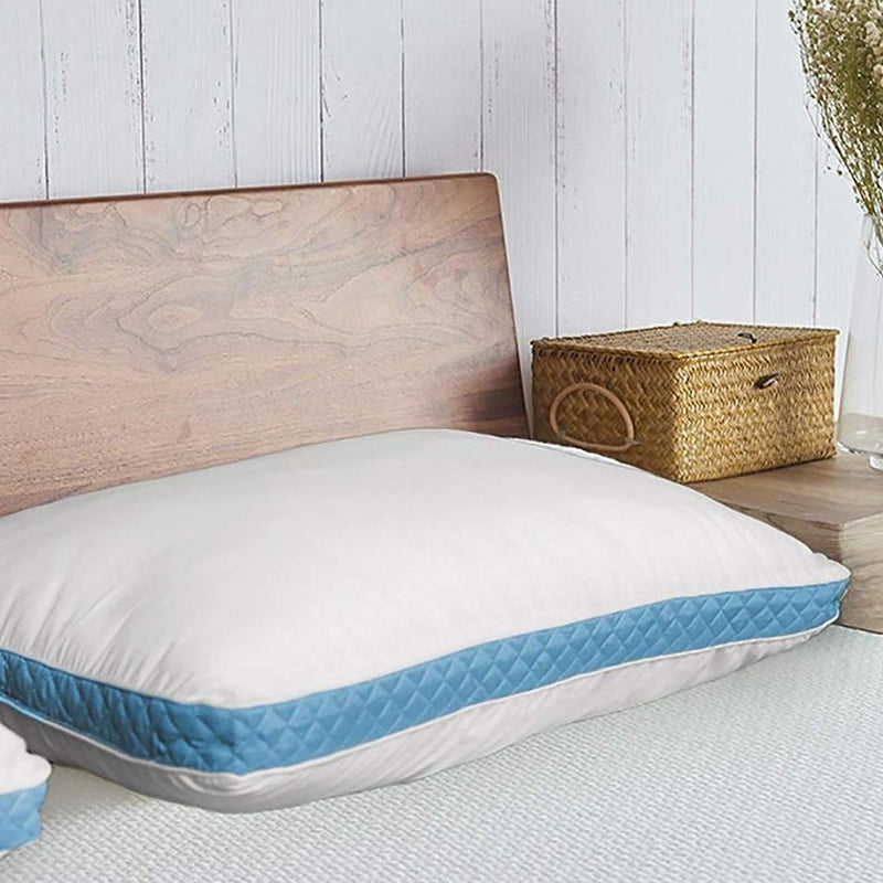 2-Pack: Premium Gusseted Pillows Linen & Bedding - DailySale