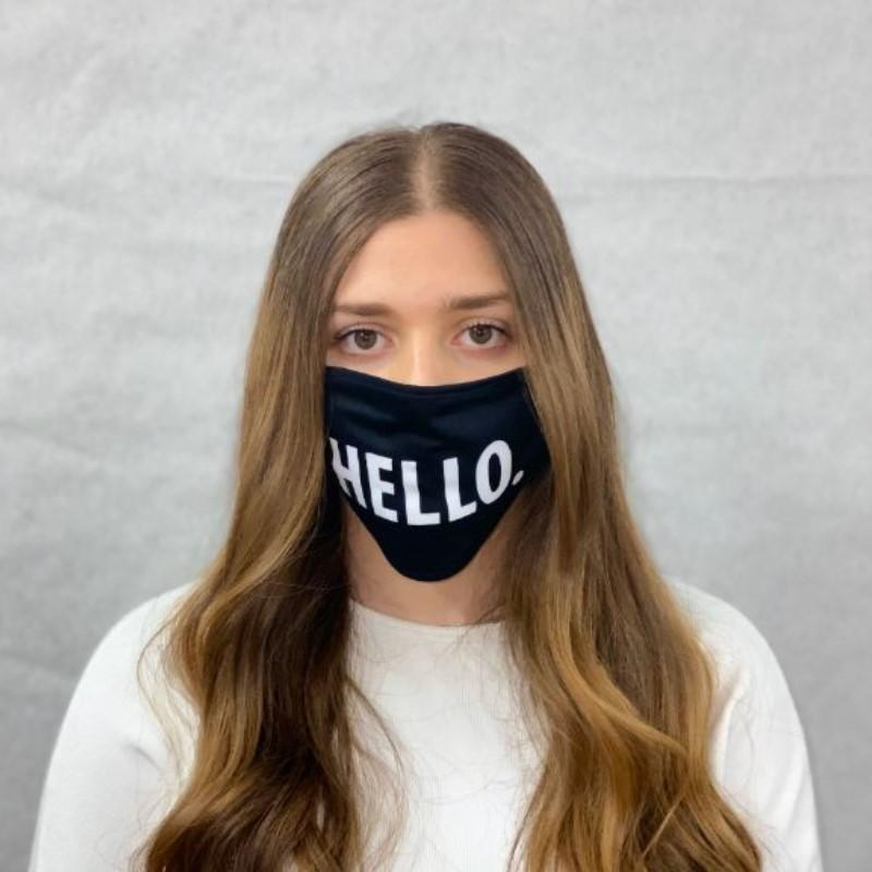 2-Pack: Reusable Premium Stretchy Unisex Face Mask Wellness & Fitness - DailySale