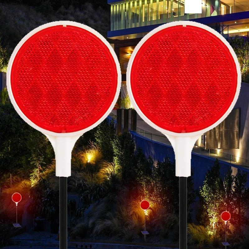 2 Pack: Solar Powered Driveway Spotter Home Lighting - DailySale