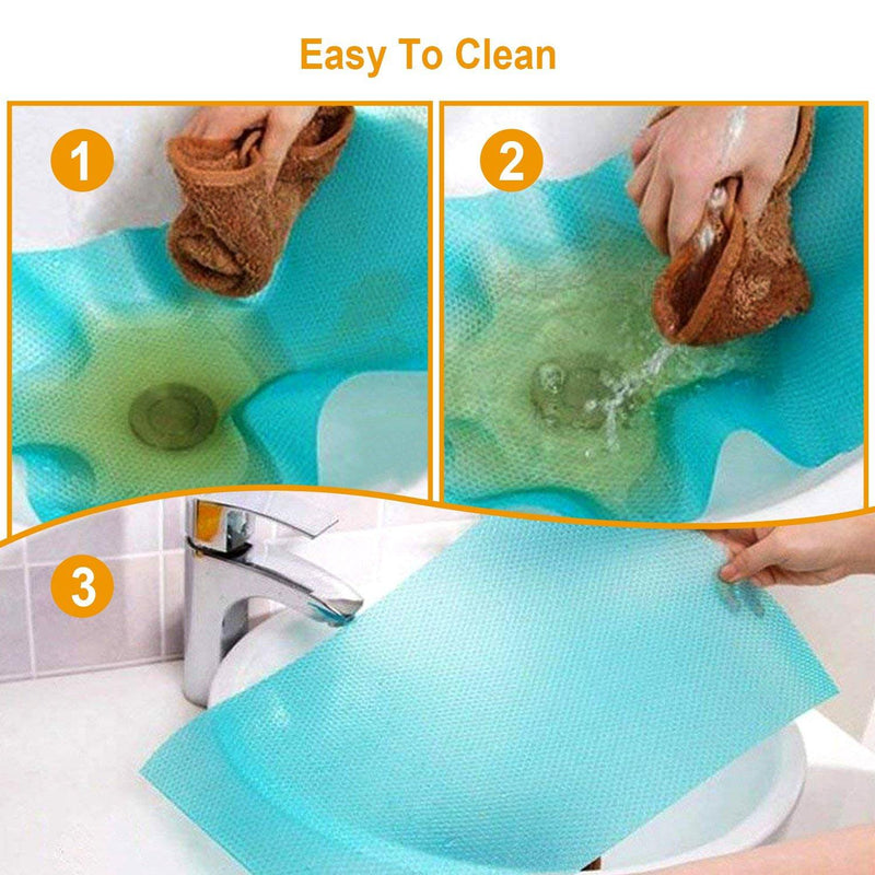 2-Pieces: Easy Clean Fridge Pads Kitchen & Dining - DailySale