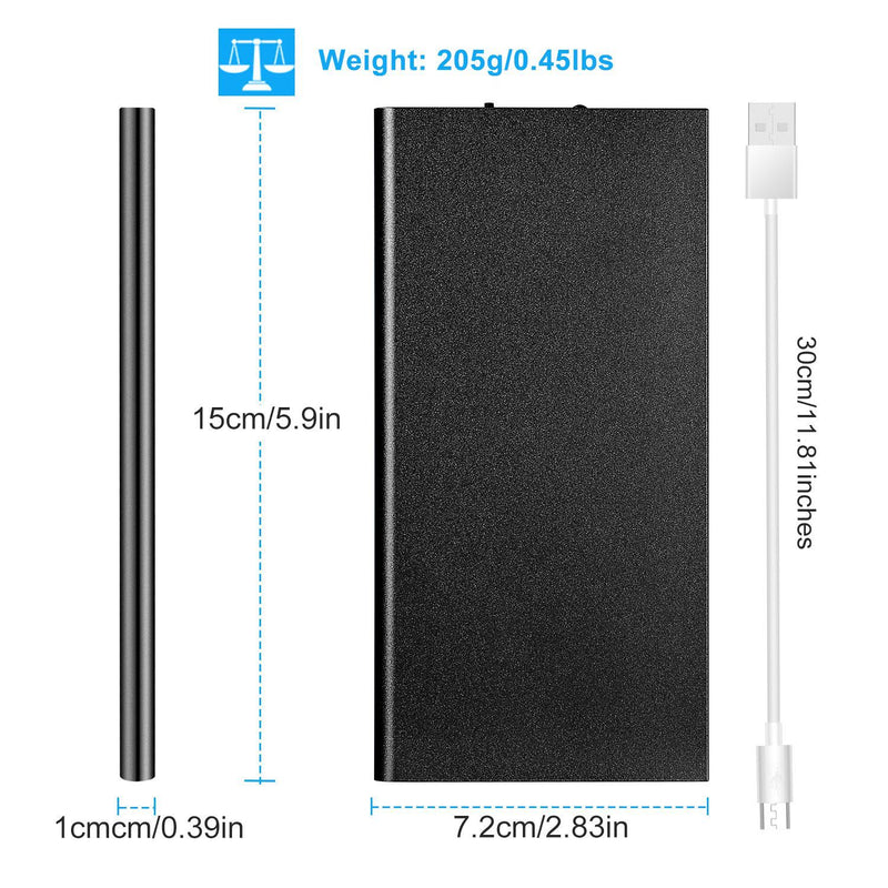 20000mAh Power Bank Ultra Thin External Battery Pack Mobile Accessories - DailySale
