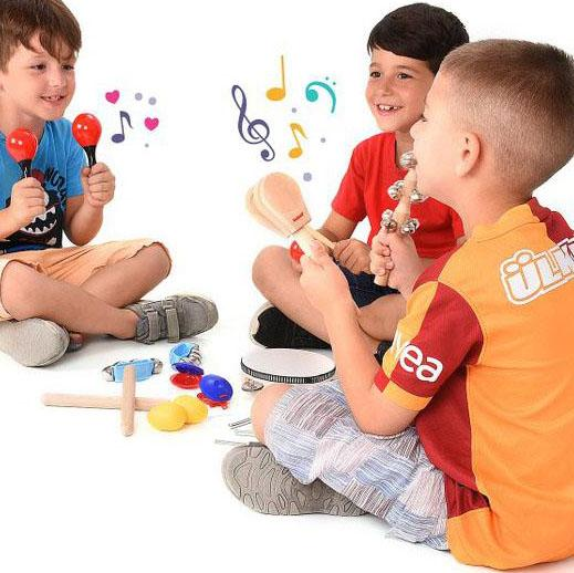 21-Piece Set: Kids Percussion Instrument Toys & Games - DailySale