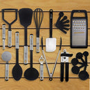 23-Piece Set: Nylon Cooking Utensils Set Kitchen Essentials - DailySale