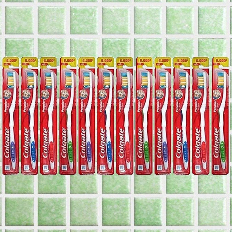 24-Pack: Colgate Premier Extra Clean Toothbrushes Beauty & Personal Care - DailySale