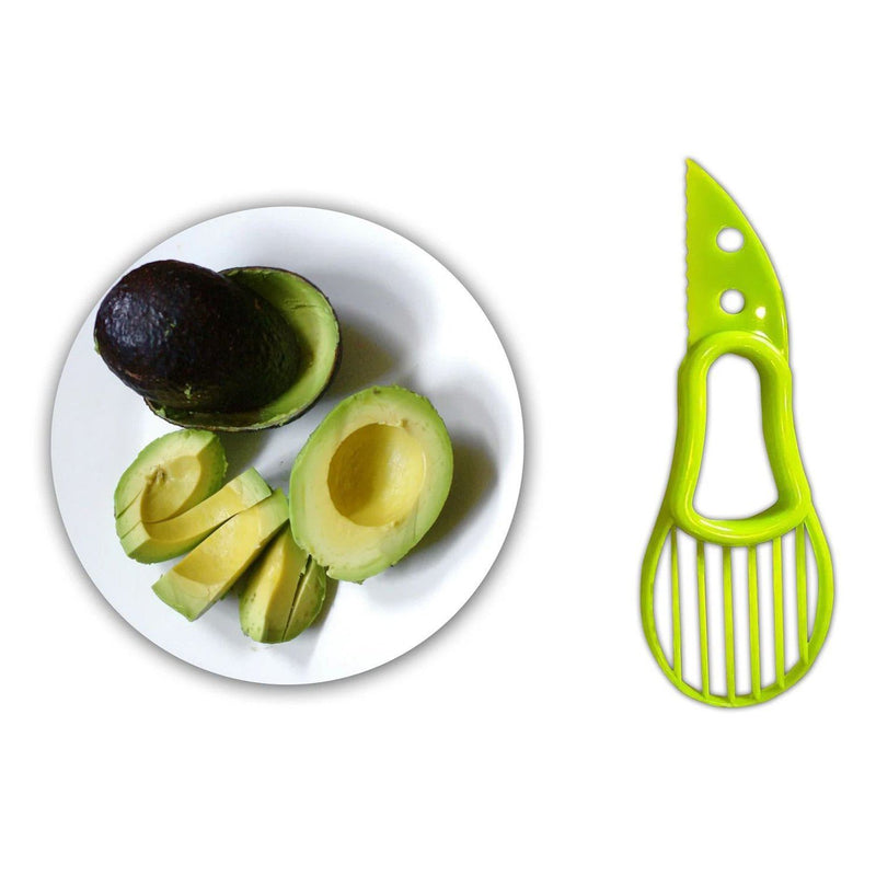 3-in-1 Avocado Cutter, Slicer and Pit Remover Tool Kitchen & Dining - DailySale