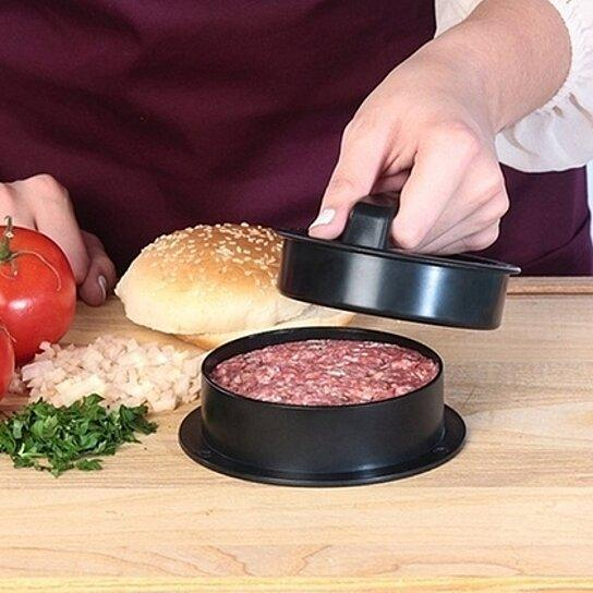 3-in-1 Hamburger Stuffer and Slider Press Kit Kitchen Essentials - DailySale