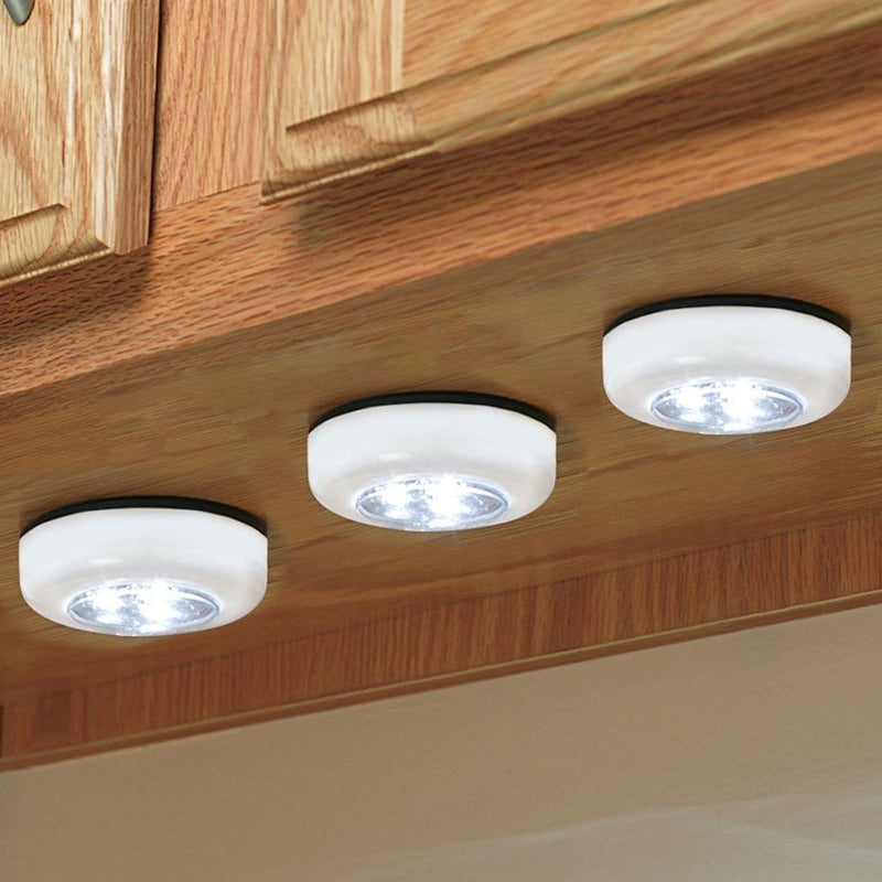 3-Pack: Bell + Howell Power Pods - High Performance Mini COB LED Lights Home Lighting - DailySale