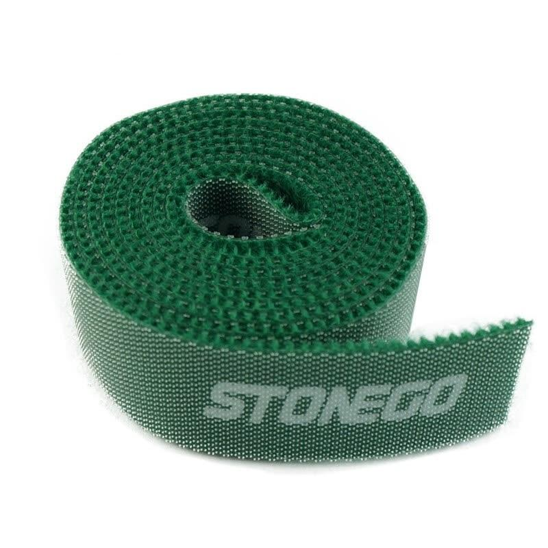 3-Pack: Hook and Loop Fastening Tape for Cable Ties Everything Else Green - DailySale