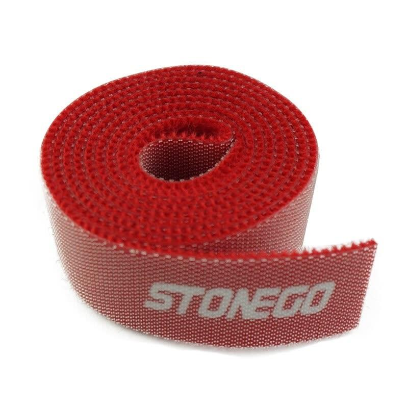 3-Pack: Hook and Loop Fastening Tape for Cable Ties Everything Else Red - DailySale