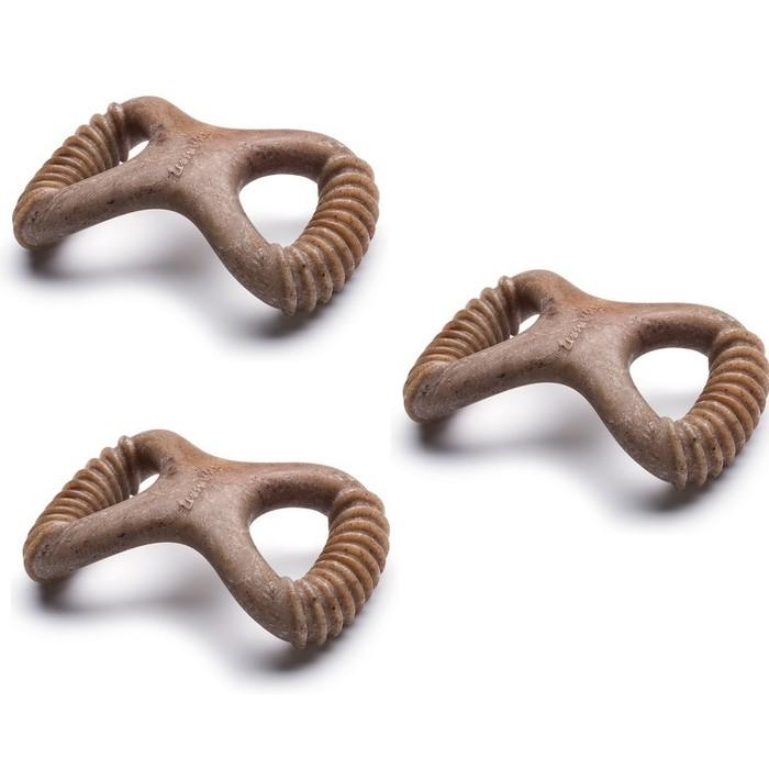 3-Pack: Lumabone Small Bacon Dental Dog Chew Toy Pet Supplies - DailySale