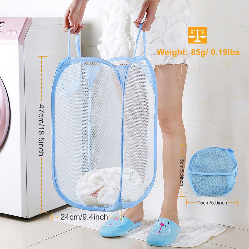 3-Pack: Pop-Up Laundry Hampers Foldable Closet & Storage - DailySale
