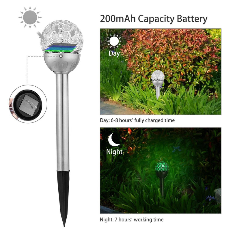 3-Pack: Solarek Outdoor Solar Lights Outdoor Lighting - DailySale