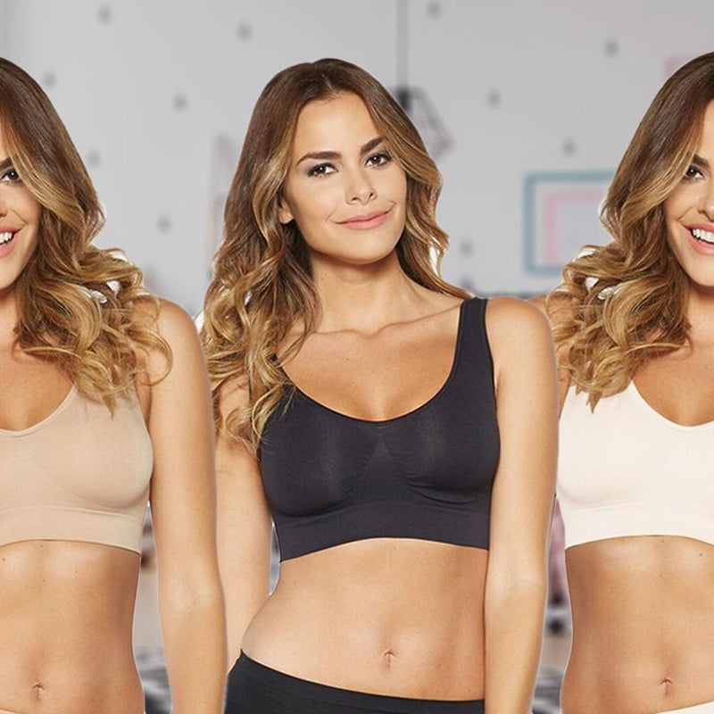 3-Pack: Total Comfort Ahh Bras Women's Apparel - DailySale