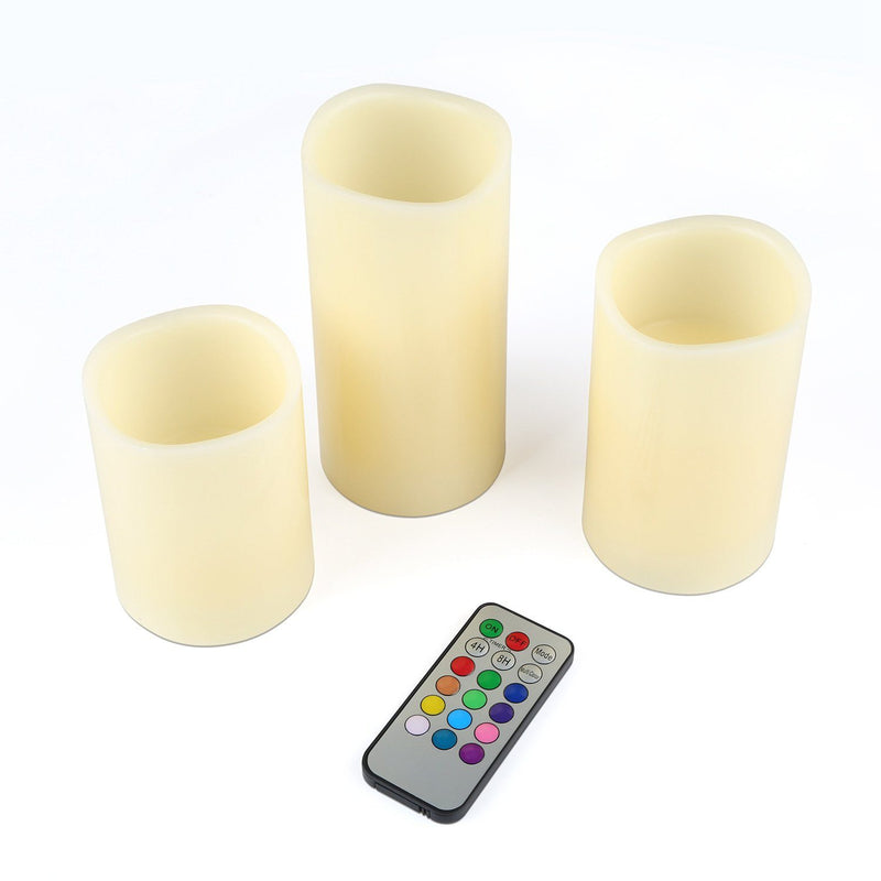 3-Piece: Flameless Votive Candles Lighting & Decor - DailySale