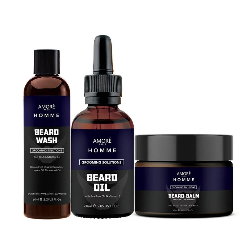 3-Piece Set: Ultimate Beard Care And Grooming Kit Beauty & Personal Care - DailySale