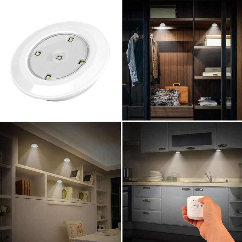 3-Pieces: LED Night Cordless Battery Powered Home Lighting - DailySale