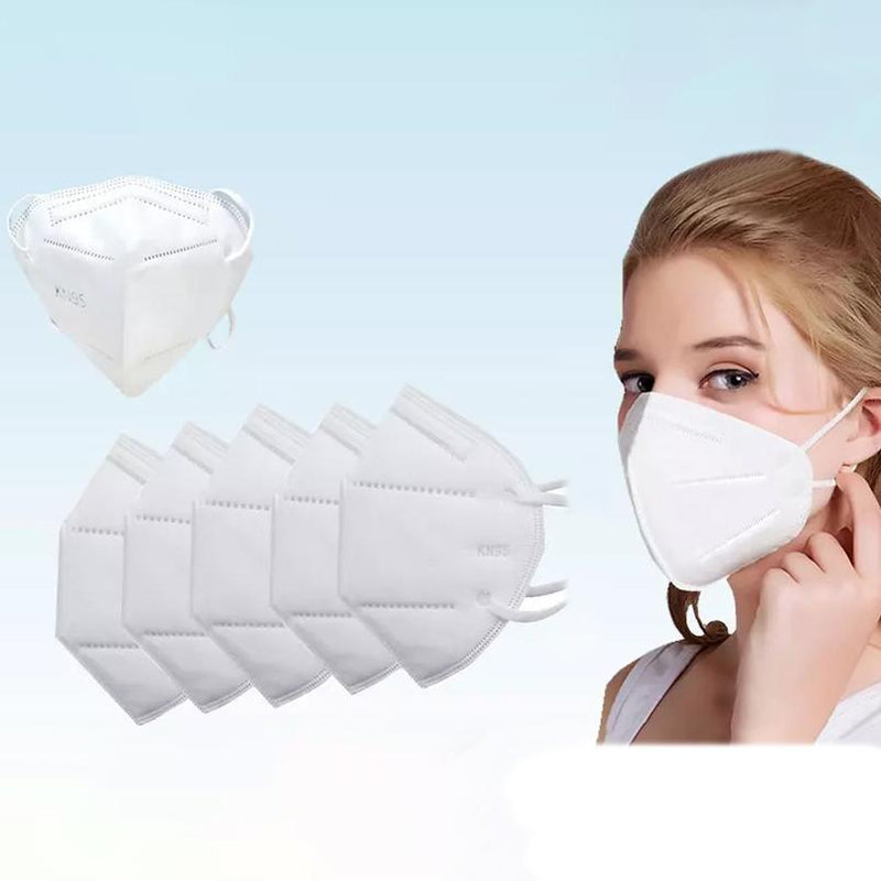 30-Pack: KN95 Face Masks with Multi Layer Breathable Fabric and Elastic Ear Loops Face Masks & PPE - DailySale