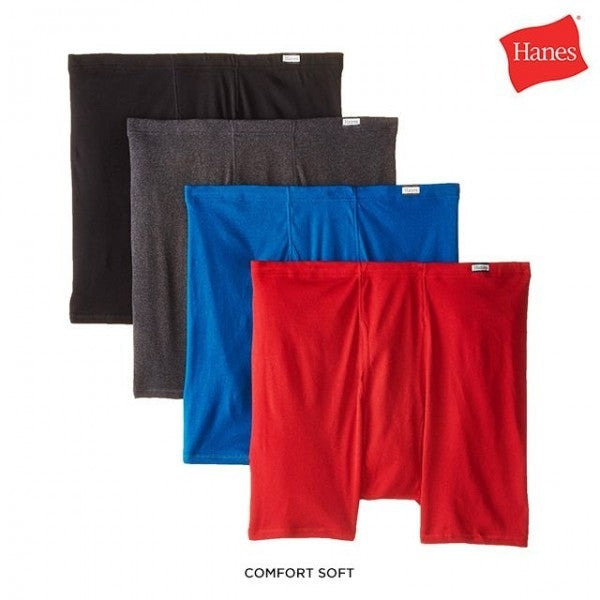 4-Pack: Hanes 100% Cotton Boxer Briefs - Size: Small - DailySale, Inc