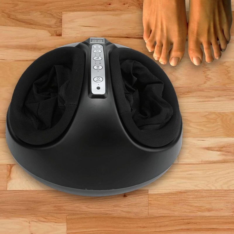 360 Degree Heating and Kneading Shiatsu Pressure Foot Massager Wellness & Fitness - DailySale