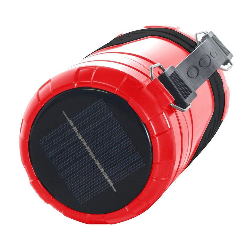 360-Degree Solar Powered LED 5-in-1 Lantern Sports & Outdoors - DailySale